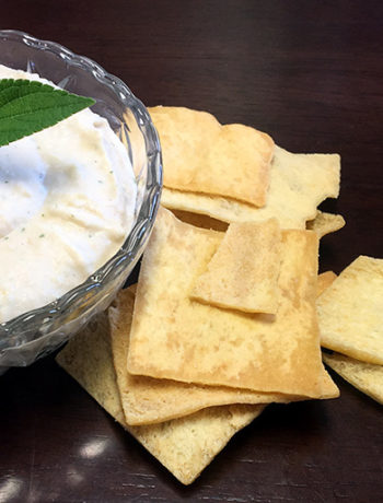 Cannellini Bean Dip with Pineapple Sage