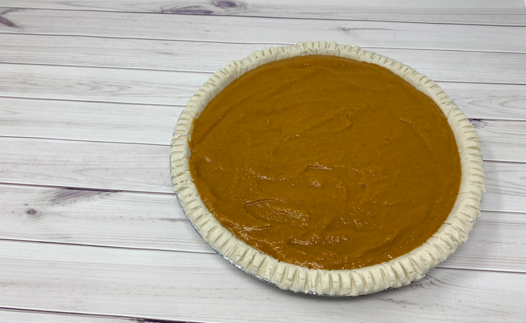 Pumpkin Pie Ready to Bake