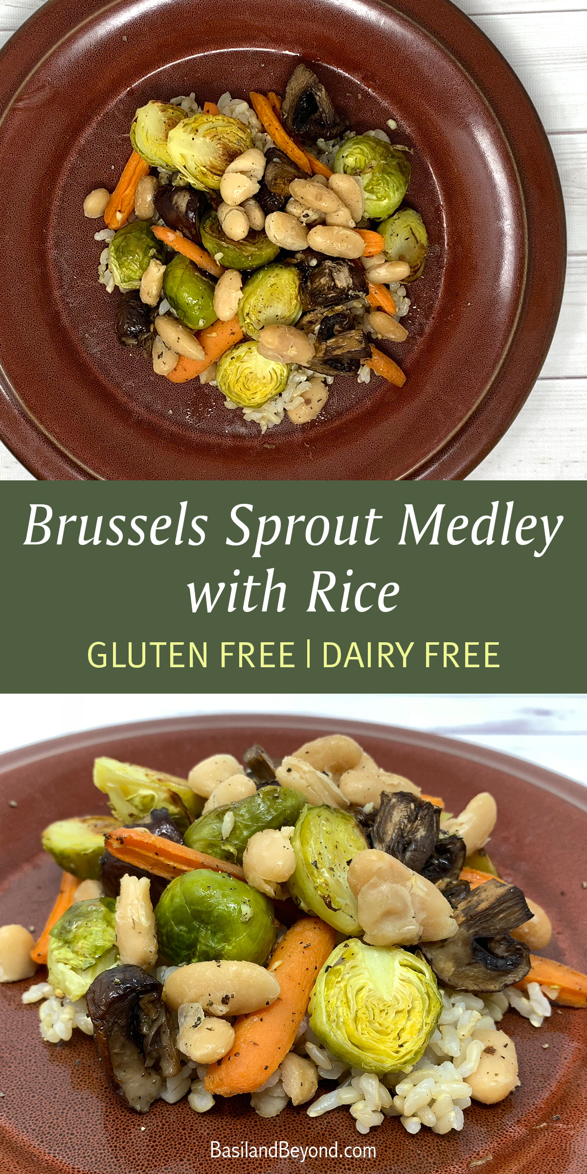 Brussels Sprout Medley with Rice